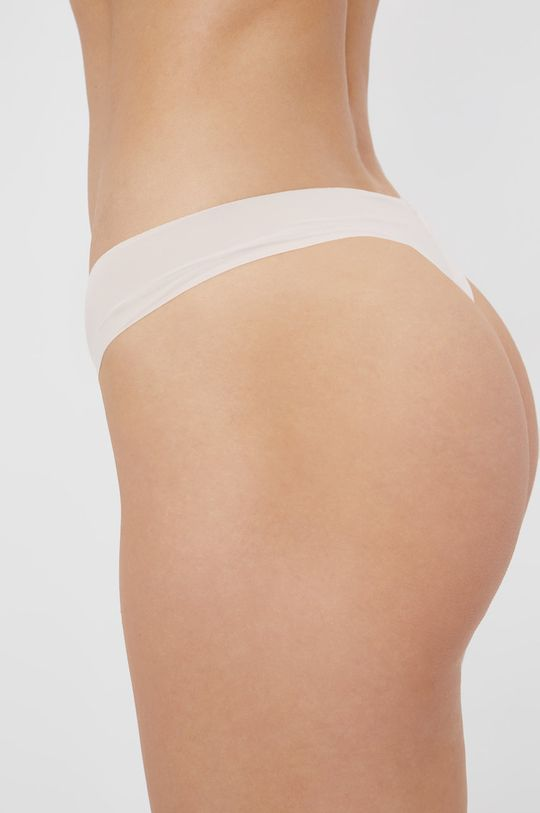 Calvin Klein Underwear - Stringi Materiał zasadniczy: 27 % Elastan, 73 % Poliamid, Wstawki: 100 % Bawełna