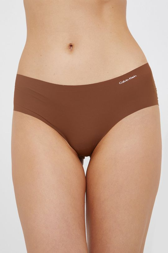brązowy Calvin Klein Underwear - Figi Damski