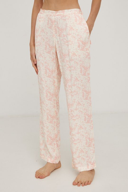 pastelově růžová Calvin Klein Underwear - Pyžamové kalhoty Dámský