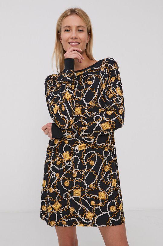 czarny Moschino Underwear - Koszula nocna Damski
