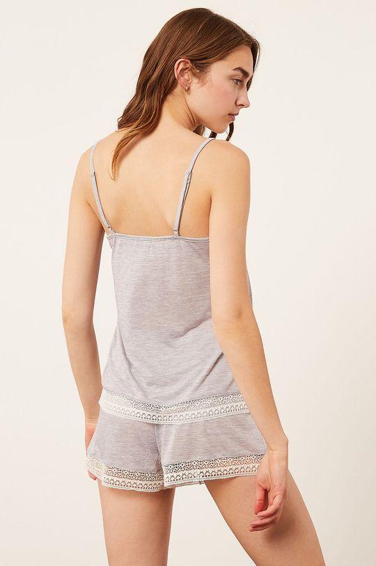 Etam - Top piżamowy WARM DAY szary