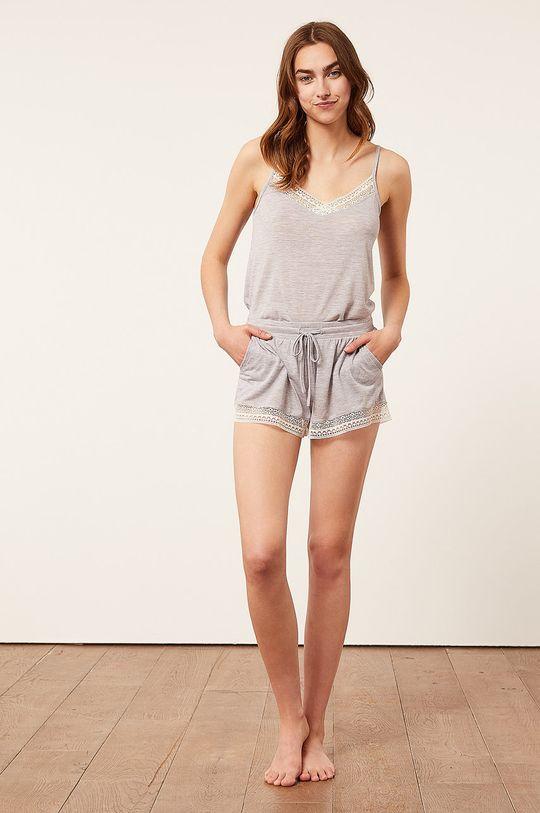 szary Etam - Top piżamowy WARM DAY