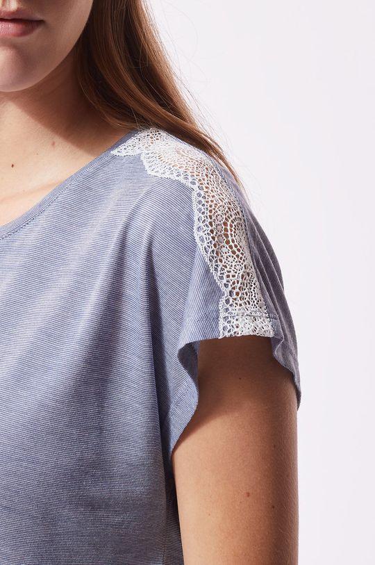 tmavě tyrkysová Etam - Pyžamové tričko Warm Day