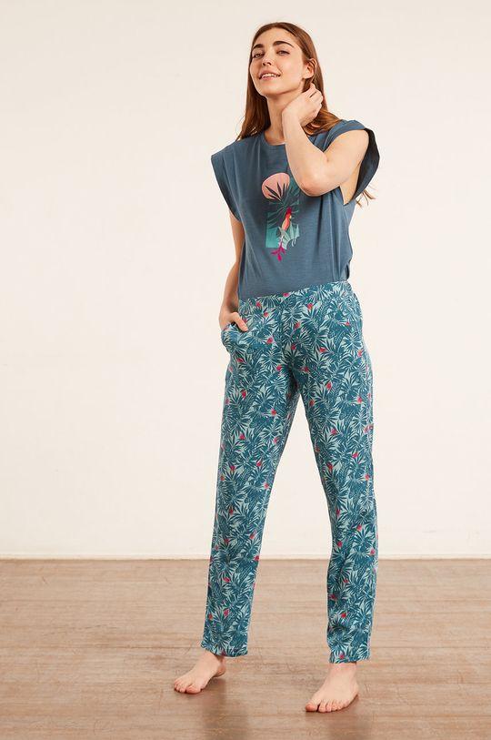 Etam - Pyžamové tričko Blaise modrá