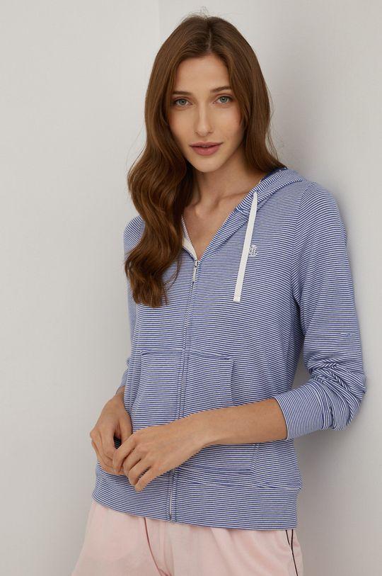modrá Lauren Ralph Lauren - Pyžamová mikina Dámský