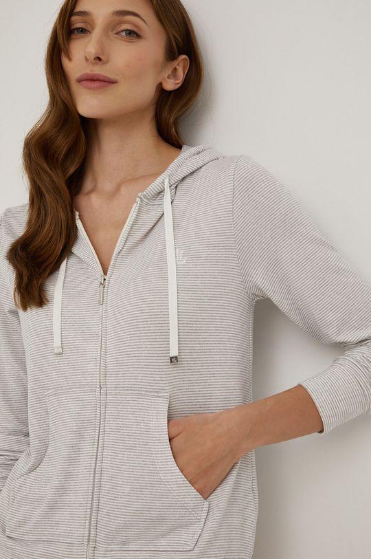 Lauren Ralph Lauren - Pyžamová mikina šedá