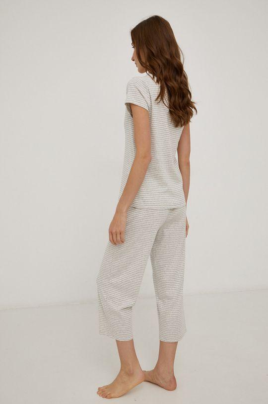 szary Lauren Ralph Lauren - Piżama bawełniana