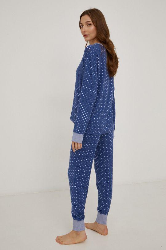 modrá Lauren Ralph Lauren - Pyžamo
