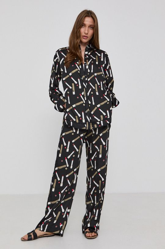 Victoria Victoria Beckham - Spodnie czarny
