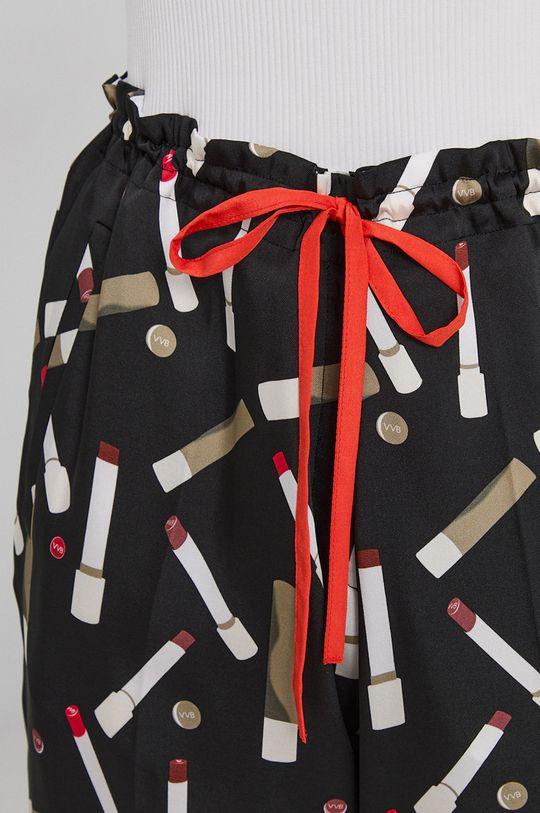czarny Victoria Victoria Beckham - Spodnie