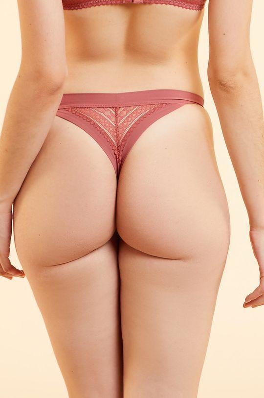 Etam - Kalhotky Style  Podšívka: 100% Bavlna Materiál č. 1: 14% Elastan, 86% Polyester Materiál č. 2: 15% Elastan, 85% Polyamid