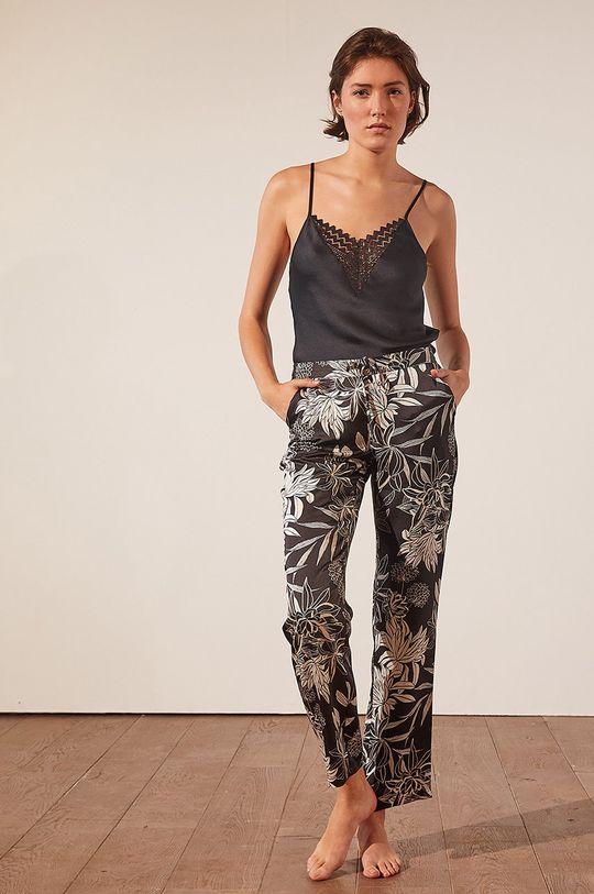 Etam - Spodnie piżamowe New Sali czarny