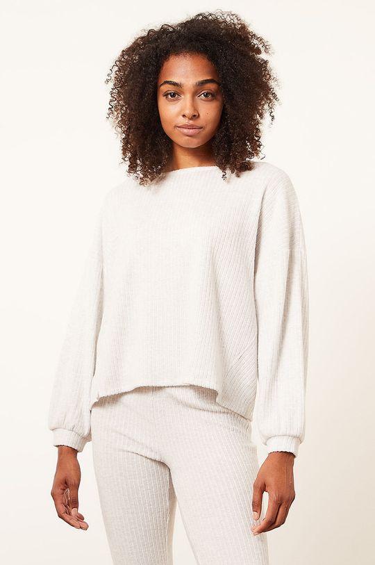 béžová Etam - Pyžamové tričko s dlouhým rukávem Cael Dámský