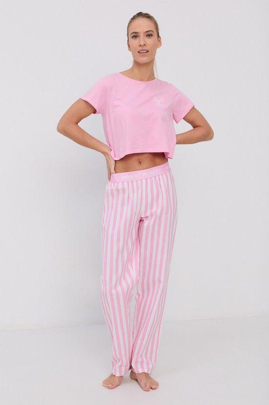różowy Brave Soul - Piżama Damski