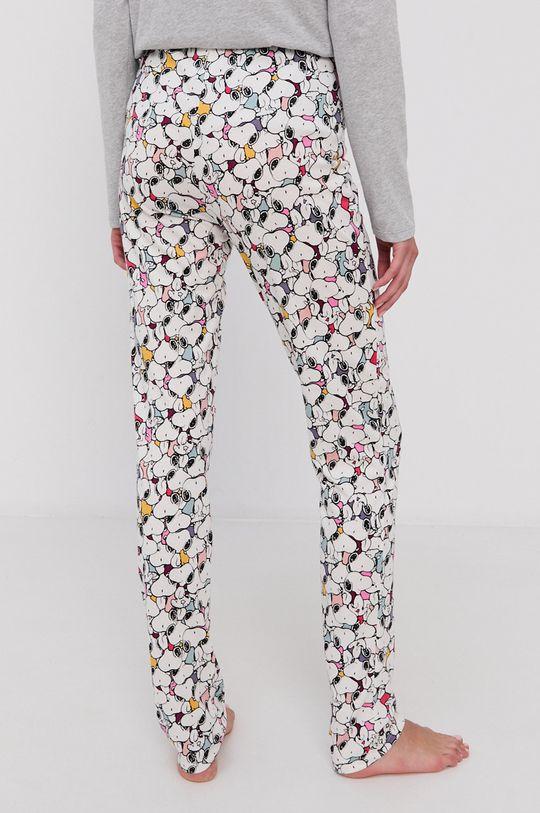 United Colors of Benetton - Spodnie piżamowe x Peanuts 50 % Bawełna, 50 % Wiklina