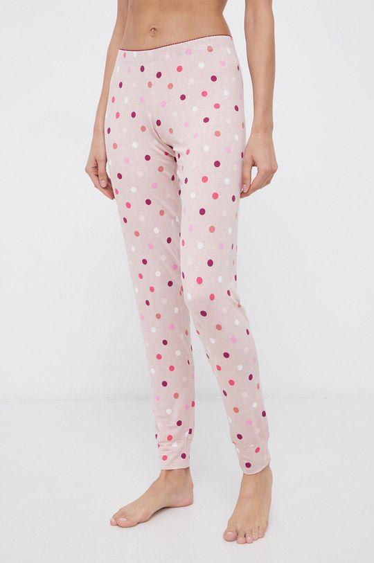 różowy United Colors of Benetton - Spodnie piżamowe Damski
