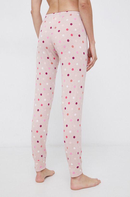 United Colors of Benetton - Spodnie piżamowe różowy
