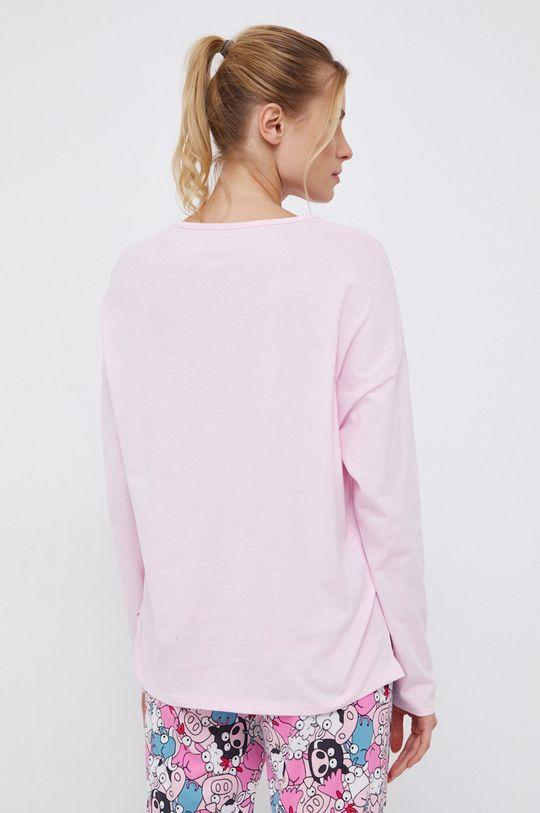 United Colors of Benetton - Longsleeve piżamowy bawełniany 100 % Bawełna