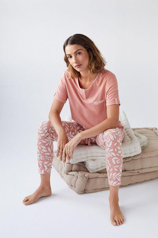 women´secret - Piżama brzoskwiniowy