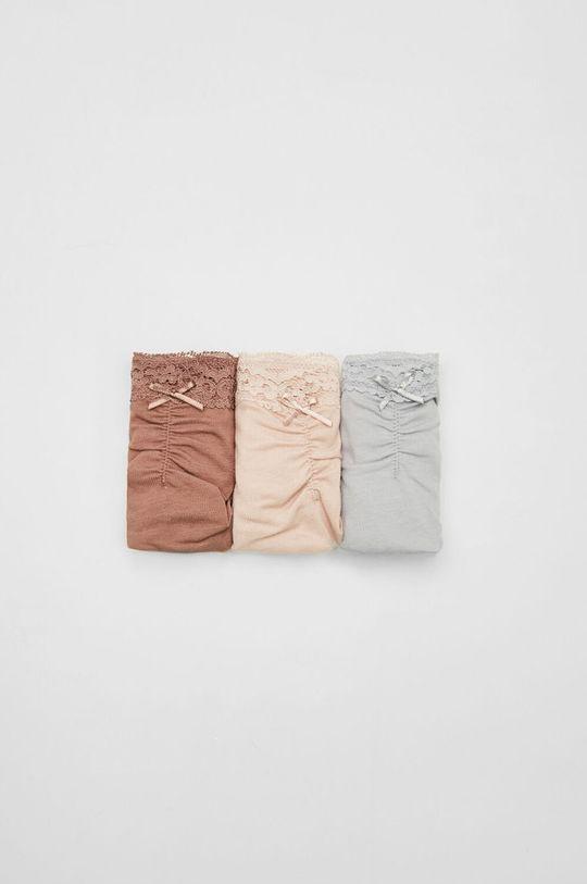 fiołkowo różowy women´secret - Stringi (3-pack) Damski