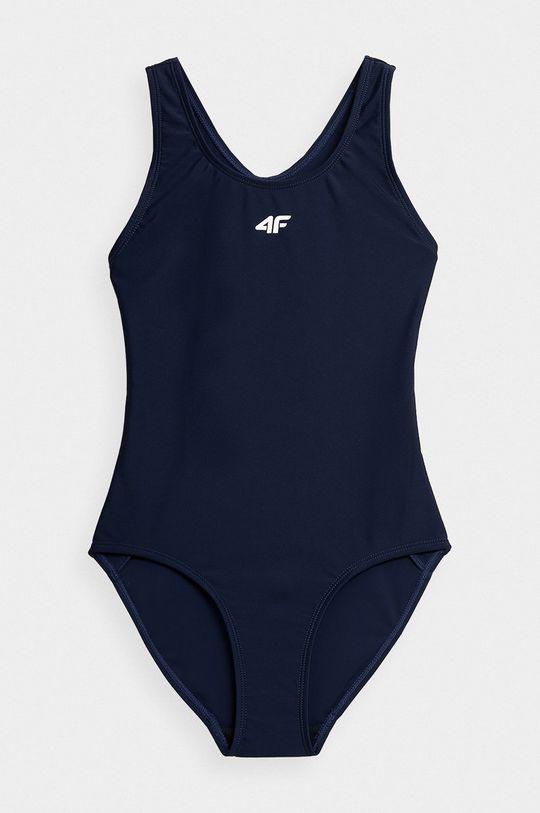 námořnická modř 4F - Dětské plavky Dívčí