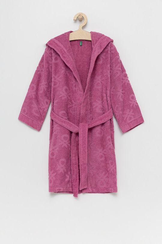 roz United Colors of Benetton - Halat copii De fete