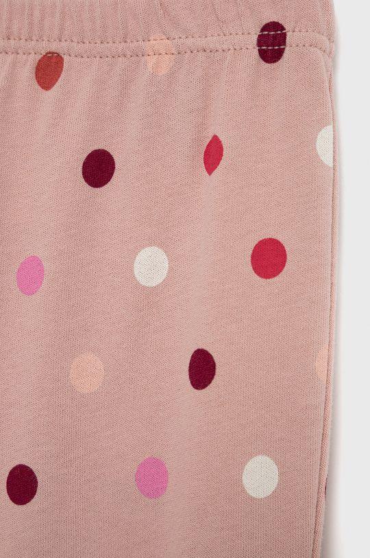 brudny róż United Colors of Benetton - Piżama bawełniana dziecięca