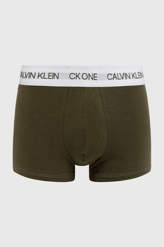 brązowa zieleń Calvin Klein Underwear - Bokserki Ck One Męski