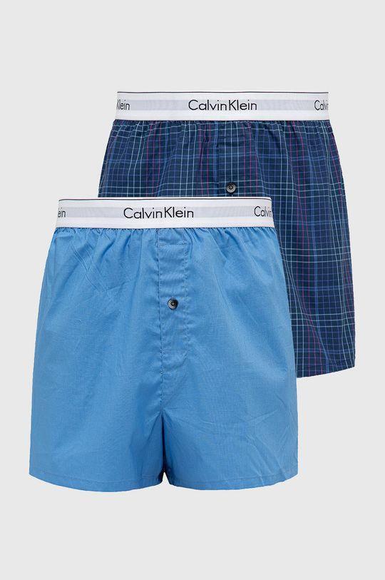 niebieski Calvin Klein Underwear - Bokserki (2-pack) Męski
