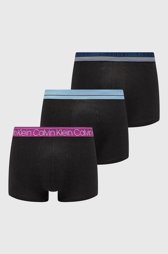 czarny Calvin Klein Underwear - Bokserki (3-pack) Męski