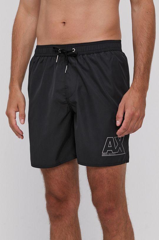 čierna Armani Exchange - Plavkové šortky Pánsky