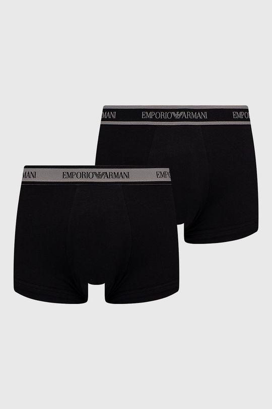 czarny Emporio Armani Underwear - Bokserki (2-pack) Męski