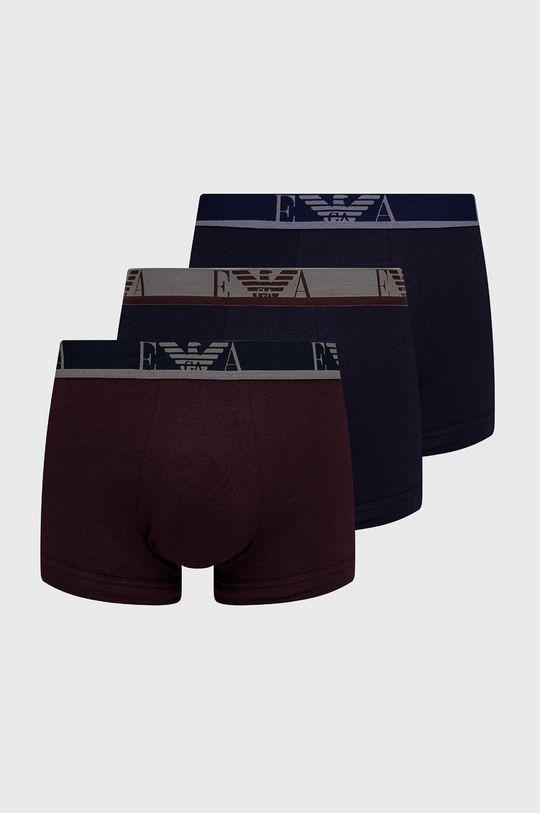 granatowy Emporio Armani Underwear - Bokserki (3-pack) Męski
