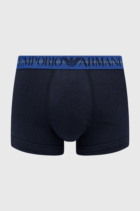 granatowy Emporio Armani Underwear - Bokserki (3-pack)