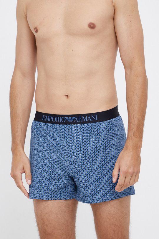modrá Emporio Armani Underwear - Boxerky Pánský