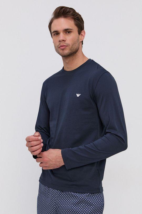 Emporio Armani Underwear - Piżama granatowy
