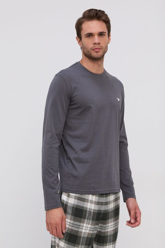 Emporio Armani Underwear - Piżama szary