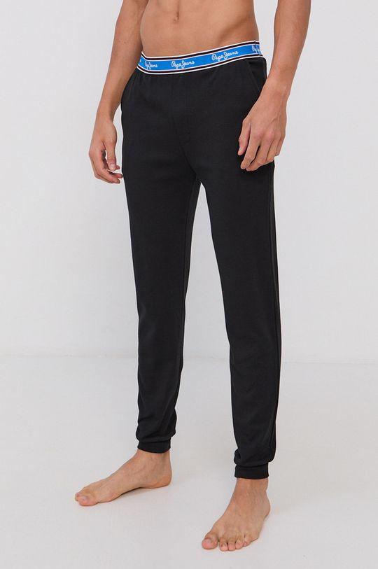 negru Pepe Jeans - Pantaloni de pijama Freeman De bărbați