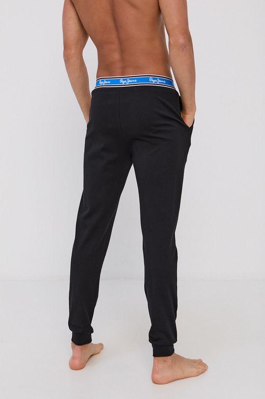 Pepe Jeans - Pantaloni de pijama Freeman negru