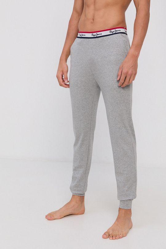gri Pepe Jeans - Pantaloni de pijama Tate De bărbați