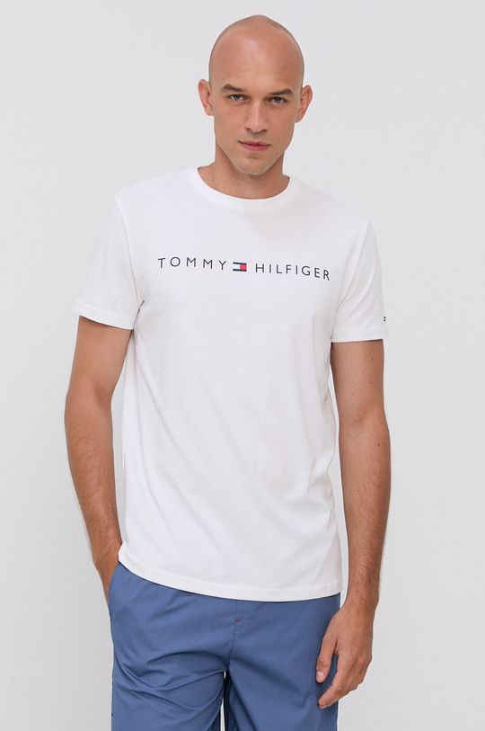 Tommy Hilfiger - Komplet piżamowy biały