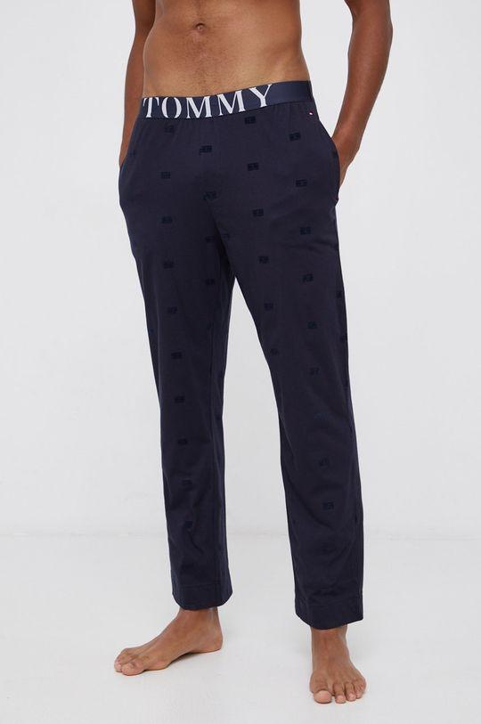 granatowy Tommy Hilfiger - Spodnie piżamowe Męski