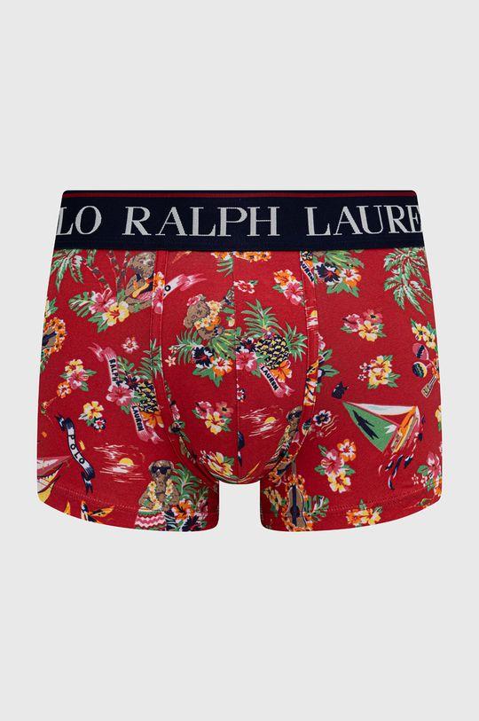 czerwony Polo Ralph Lauren - Bokserki Męski