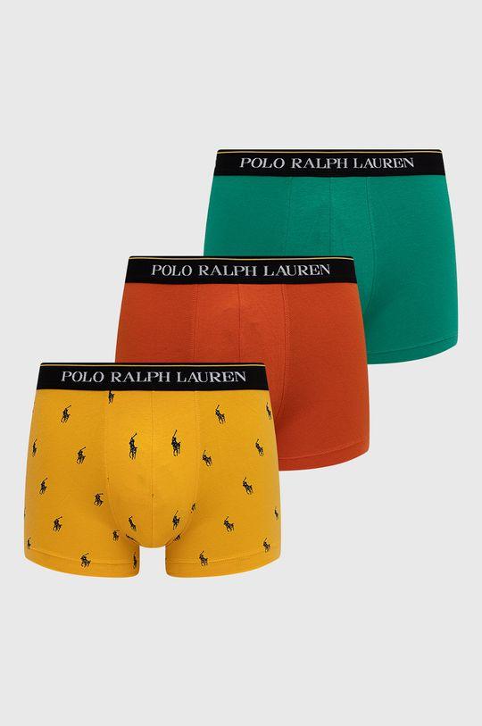viacfarebná Polo Ralph Lauren - Boxerky (3-pak) Pánsky