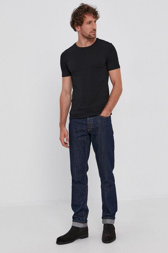 Drykorn - T-shirt (2-pack) czarny