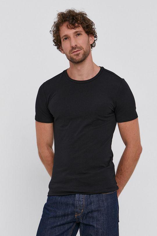 czarny Drykorn - T-shirt (2-pack)
