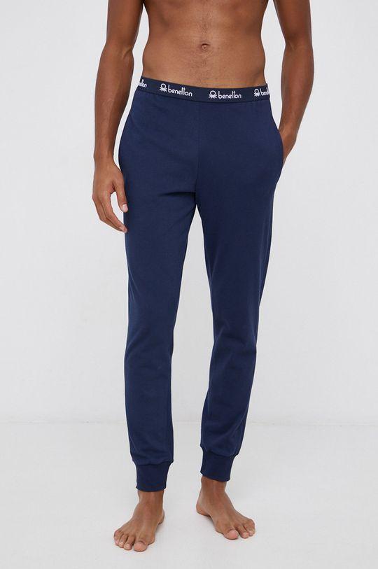 granatowy United Colors of Benetton - Spodnie piżamowe Męski