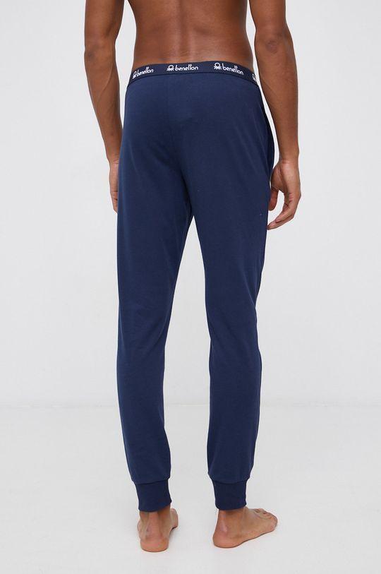 United Colors of Benetton - Spodnie piżamowe granatowy