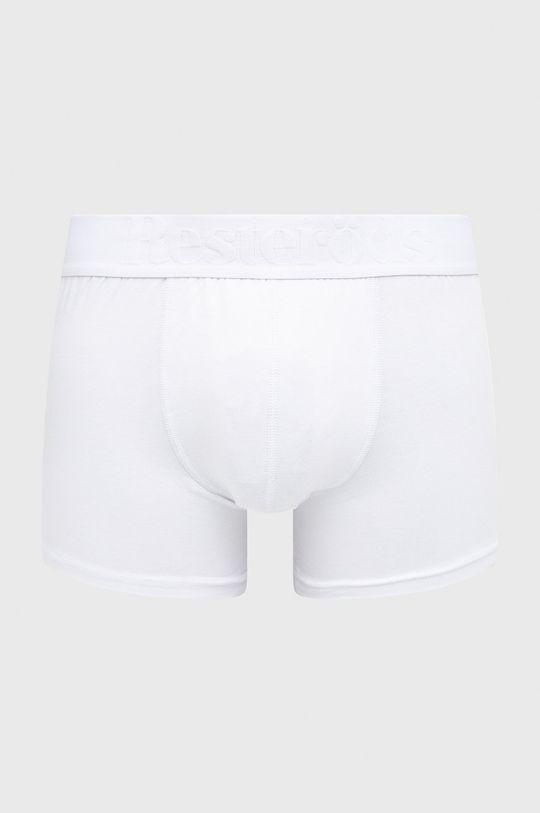 Resteröds - Bokserki Bamboo Viscose (3-pack) biały