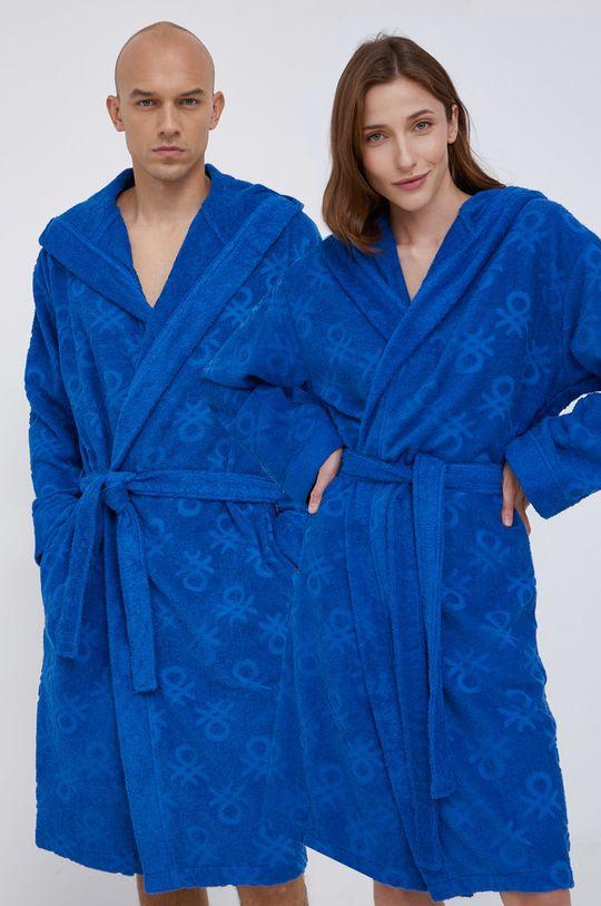 modrá United Colors of Benetton - Župan Unisex